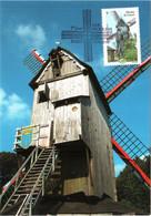 Carte Maximum YT 4486 Moulin à Vent De Cassel 1er Jour 15 06 2010 TBE Cachet PARIS (75) Les Moulins - 2010-...