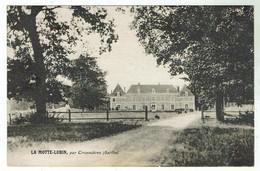 CROSMIERES Près De La Flèche -château De La Motte- Lubin - Bon état - Other Municipalities