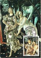 Carte Maximum YT 4518 Le Printemps De Sandro BOTTICELLI 0,87€ 1er Jour 04 11 2010 TBE Paris (75) - 2010-...