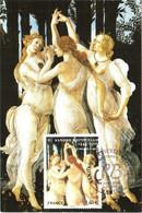 Carte Maximum YT 4519 Le Printemps De Sandro BOTTICELLI 1,40€ 1er Jour 04 11 2010 TBE Paris (75) - 2010-...