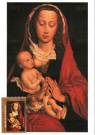 Carte Maximum YT 4525 Les Primitifs Flamands Roger De La Pasture Van Der Weyden 1er Jour 06 11 2010 TBE Paris (75) - 2010-...