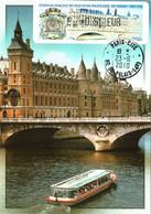 Carte Maximum Vignette LISA 854, 83e Congrès FFAP 23 06 2010 0,51€ TBE Paris (75) La Conciergerie - 2010-...
