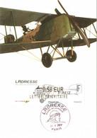 Carte Maximum Vignette LISA Obl Spé Ill Bréguet XIV, L'Adresse, Musée De La Poste 21 10 2010 0,58€ TBE Paris (75) - 2010-...