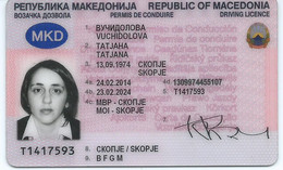 MACEDONIA, DRIVING LICENCE - Documents Historiques