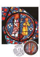 Carte Maximum YT 4550, 800e Anniversaire De La Cathédrale De REIMS 1er Jour 06 05 2011 TBE Reims (51) - 2010-...