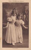 AK 2 Mädchen In Ballkleidern - Elixir D'Anvers Liqueur Dßelicieuse - Ca. 1910/20  (53722) - Gruppen Von Kindern Und Familien