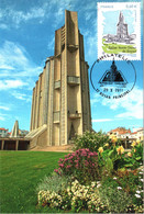 Carte Maximum YT 4613 Eglise Notre-Dame De ROYAN (17) Obl Spé Ill Philatélie Royan Principal 29 10 2011 TBE - 2010-...