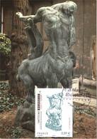 Carte Maximum YT 4626 Centaure Mourant D'Antoine BOURDELLE Obl Spé Ill 1er Jour 04 11 2011 TBE Paris (75) - 2010-...
