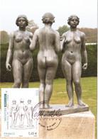 Carte Maximum YT 4627 Les Trois Nymphes D'Aristide MAILLOL Obl Spé Ill 1er Jour 04 11 2011 TBE Paris (75) - 2010-...