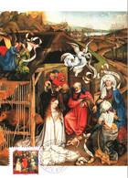Carte Maximum YT AA 621 Adoration Des Bergers Du Maître De Flémalle 03 01 2012 TBE Dijon (21) Meilleurs Voeux Nativités - 2010-...