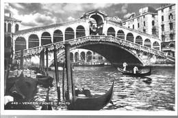 CPA°-1950-ITALIE-VENISE-PONT Du RIALTO-TBE - Venezia (Venice)