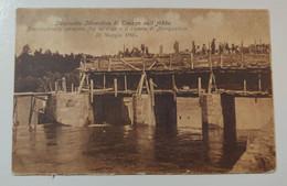 Trezzo Sull'Adda Impianto Idraulico Scaricatore A Paratoie Fra La Diga E Il Canale Di Navigazione 31 Maggio 1905 - Other Cities