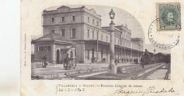 VILLANUEVA Y GELTRU /  ESTATCION / LA GARE / THE STATION / LLEGADA DE TRENES 1909 - Barcelona