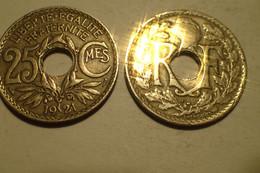 1921 - France - 25 CENTIMES, Lindauer, KM 867a, Gad 380 - F. 25 Centesimi