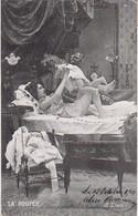 AK La Poupee - Mädchen Mit Puppe - Karte Mit Glitter - 1905 (53736) - Portraits