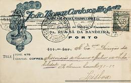 1934. Portugal. Cartão Postal Comercial Enviado De Vila Nova De Gaia - Annullamenti Meccanici (pubblicitari)