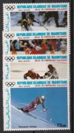Mauritanie - 1987 - Poste Aérienne PA N°Yv. 251 à 254 - Olympics Calgary 88 - Neuf Luxe ** / MNH / Postfrisch - Mauritania (1960-...)