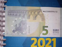 5 EURO M004I2 - PORTUGAL - MA2388099413 - M004 I2 - UNC - NEUF - 5 Euro