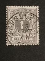 COB N° 43 Oblitération Brugelette - 1869-1888 Lying Lion