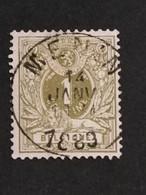 COB N° 42 Oblitération Menin - 1869-1888 Lying Lion