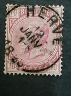 COB N° 38  Oblitération Herve 1885 - 1883 Leopold II