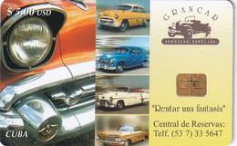 CUBA - Grancar Car Renta, Tirage 30000, 07/03, Used - Cuba