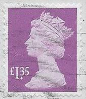 GB 2019 Machin £1.35 M19L Good/fine Used [40/33106/ND] - Machins