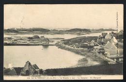 ILE De BREHAT (C-du-N) Le Moulin à Mer- Le Kerpont- Ile Beniguel- Cpsm Voyagée - Scans Recto Verso - Ile De Bréhat