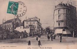 """CANNES """" Route De Grasse , Belle Animation """"     N°7589 - Cannes"""