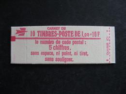 TB Carnet 1972 C2, Neuf XX. - Standaardgebruik