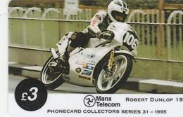 Isle Of Man - TT Racers 1995 - Robert Dunlop - Isla De Man