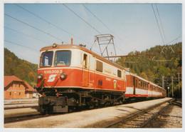 AUSTRIA     TREIN- ZUG- TRAIN- TRENI- GARE- BAHNHOF- STATION- STAZIONI    2 SCAN  (NUOVA) - Eisenbahnen