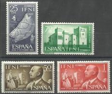 IFNI 1961 Edifil 179 A 182 ** MNH - Ifni