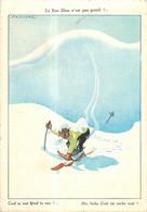 CPSM Humour-Sports D'hiver    L188 - Humour