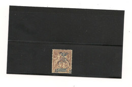 NOUVELLE CALÉDONIE 1903 N° Y/T : 68a*  Côte : 40,00 € Variété Cinquantena Re Sans I - Neufs