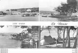 PHL Photo Cpsm 83 LE BRUSC. L'Ile Commune Et Le Camping 1960 - Otros Municipios
