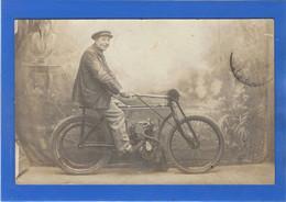 MOTO - Carte Photo D'une Motocyclette - Motorräder