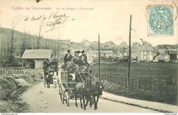 HR 78 VALLEE DE CHEVREUSE. Attelage Diligences De Saint-Remy à Chevreuse 1904 état Impeccable - Chevreuse