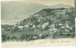 Gruss Aus Morschach 1903; Ortsansicht - Nicht Gelaufen. (Fr. Beeler - Brunnen) - SZ Schwyz
