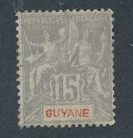 DX-209: GUYANE: Lot Avec N°45 NSG - Unused Stamps