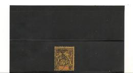 NOUVELLE CALÉDONIE 1903 N° Y/T : 79 °  Côte : 90,00 € - Gebraucht