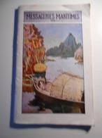 Messageries Maritimes, Services Contractuels Et Lignes Commerciales, 1929   (etat Voir Potos) - Boten