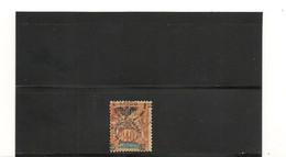 NOUVELLE CALÉDONIE 1903 N° Y/T : 77 °  Côte :40,00 € - Gebraucht