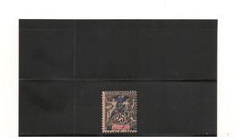 NOUVELLE CALÉDONIE 1903 N° Y/T : 75°  Côte : 23,00 € - Gebraucht
