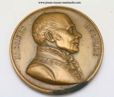 Jacques Delille. N° 32/2. Graveur. Petit. 1821. Poinçon Bronze Lampe. Voir Le Livre N° 7 En Vente à La Rubrique Livres - Monarchia / Nobiltà