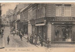 FECAMP  Rue Jacques Huet - Fécamp