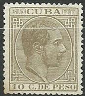 CUBA 1882 EDIFIL 72 (0) - Cuba (1874-1898)