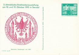 DPP 15/40 3. Altmärkische Briefmarkenausstellung Am 18. Und 19. Oktober 1975 In Stendal - Postales Privados - Nuevos