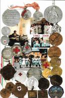 Cartolina Filatelica Con Annullo ANNIVERSARIO ISTITUZIONE CORPO INFERMIERE VOLONTARIE - Croce Rossa