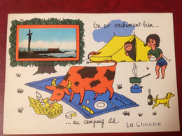 La Chaume Camping Vache - Andere Gemeenten
